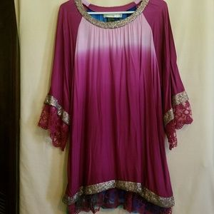 Vintage dress or long top from a Gypsy wagon
